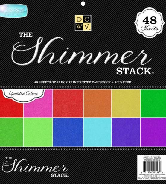 DCWV SHIMMER SOLID STACK