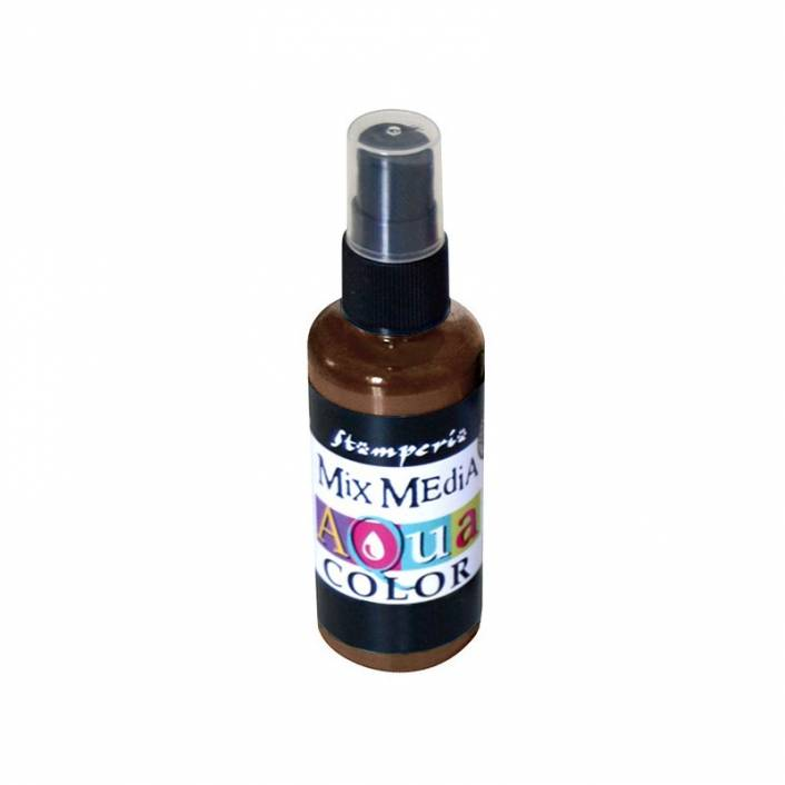 TINTA AQUA COLOR SPRAY LEATHER 60ML