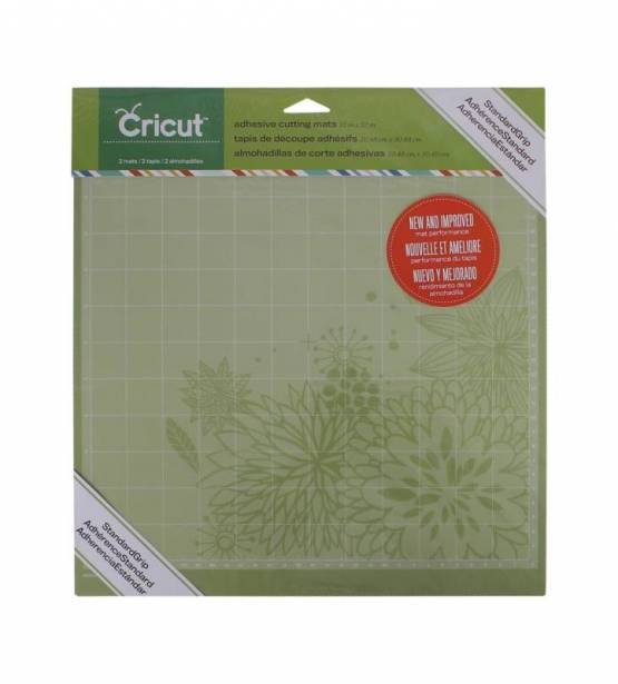 CRICUT 2 BASES DE CORTE ADHE.NORMAL 12X12""