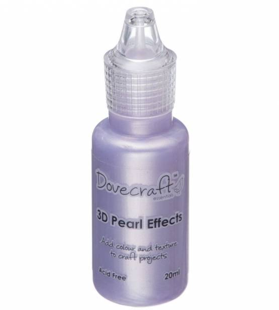 3D PEARL EFFECTS PASTEL PURPLE. DOVECRAFT