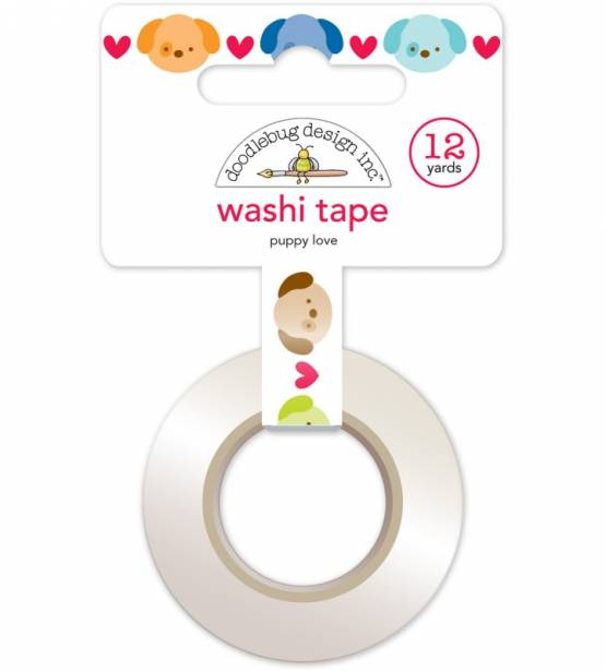 PUPPY LOVE WASHI TAPE
