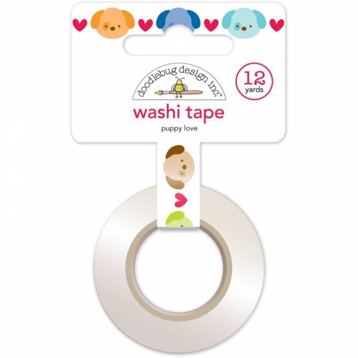 PUPPY LOVE WASHI TAPE