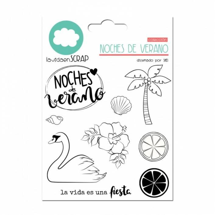 SET DE SELLOS NOCHES DE VERANO