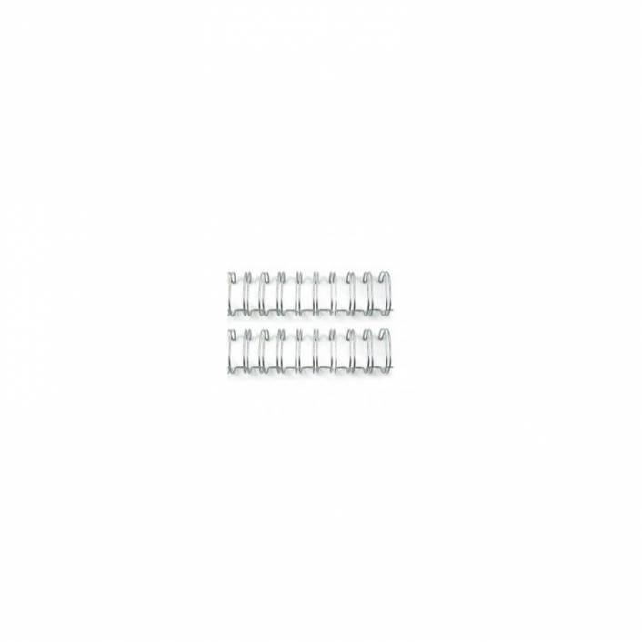 "ANILLAS PLATEADAS PARA ENCUADERNAR CINCH 0.625"""