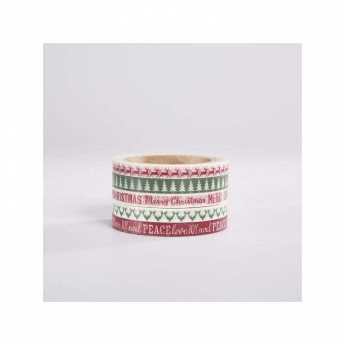 WASHI TAPE CHRISTMAS GIFT