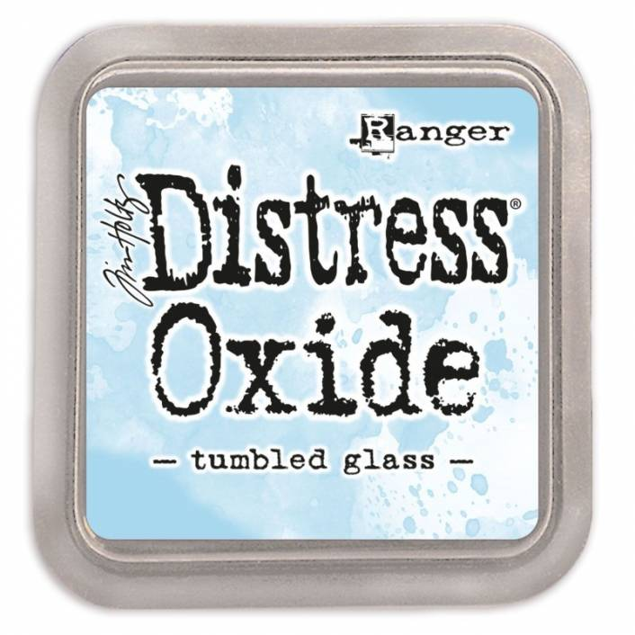 TINTA DISTRESS OXIDE TUMBLED GLASS. RANGER