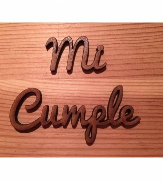 MADERITAS M&M PETIT SOUPIRS MI CUMPLE