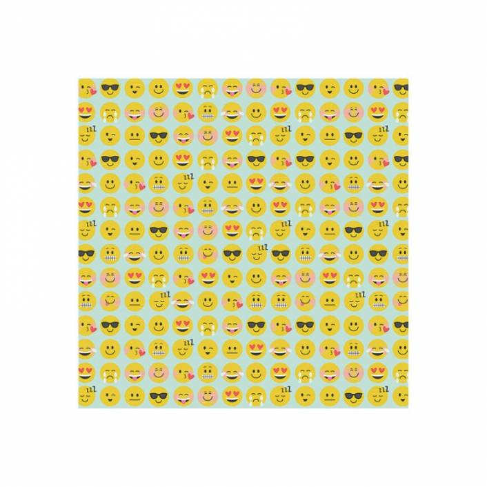 PAPEL 30X30 LOL EMOJI LOVE