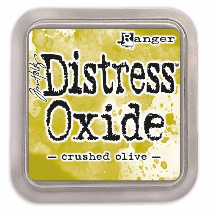 TINTA DISTRESS OXIDE CRUSHED OLIVE. RANGER