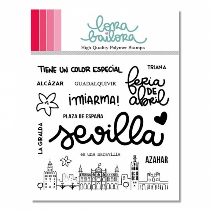 SET DE SELLOS SEVILLA. LORA BAILORA