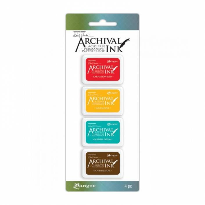 ARCHIVAL INK MINI PAD KIT BY WENDY VECCHI 1
