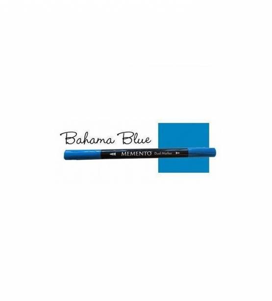 ROTULADOR DOBLE PUNTA MEMENTO BAHAMA BLUE