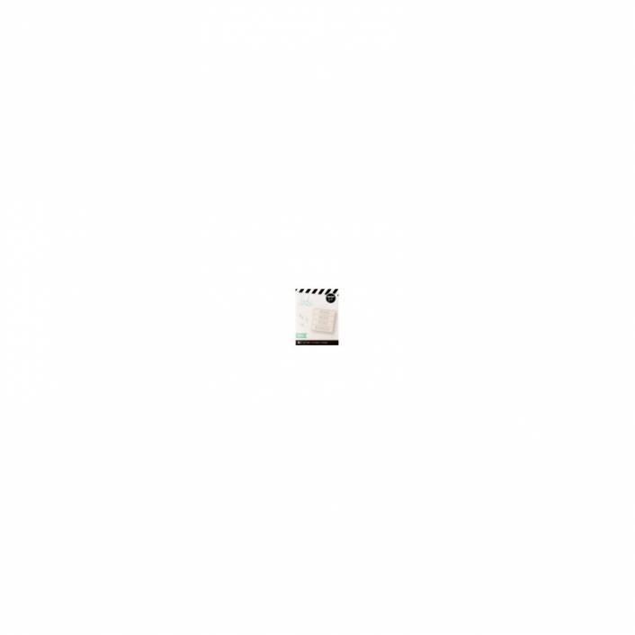 ALFABETO LIGHTBOX PEQUEÑO SERIF TEAL. HEIDI SWAPP