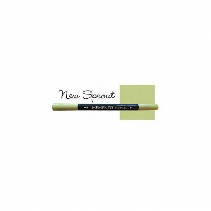 ROTULADOR DOBLE PUNTA MEMENTO NEW SPROUT