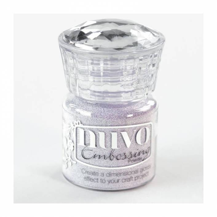 EMBOSSING POWDER SOFT LILAC . NUVO