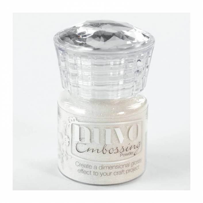 EMBOSSING POWDER SHIMMERING PEARL. NUVO