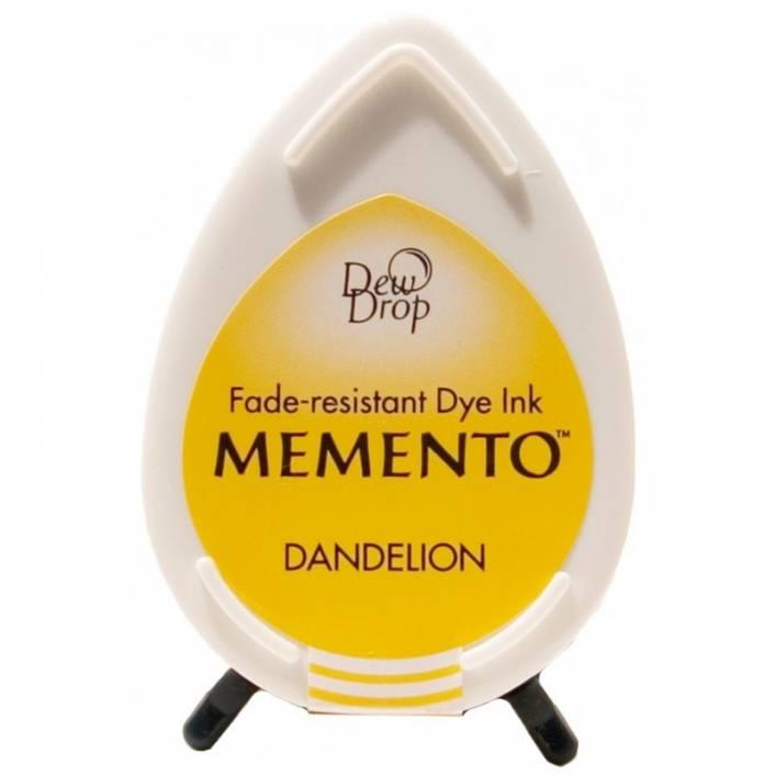TINTA DEW DROP TUXEDO DANDELION. MEMENTO