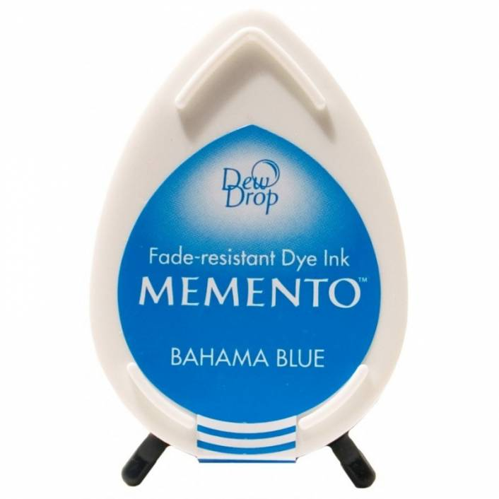 TINTA DEW DROP BAHAMA BLUE. MEMENTO