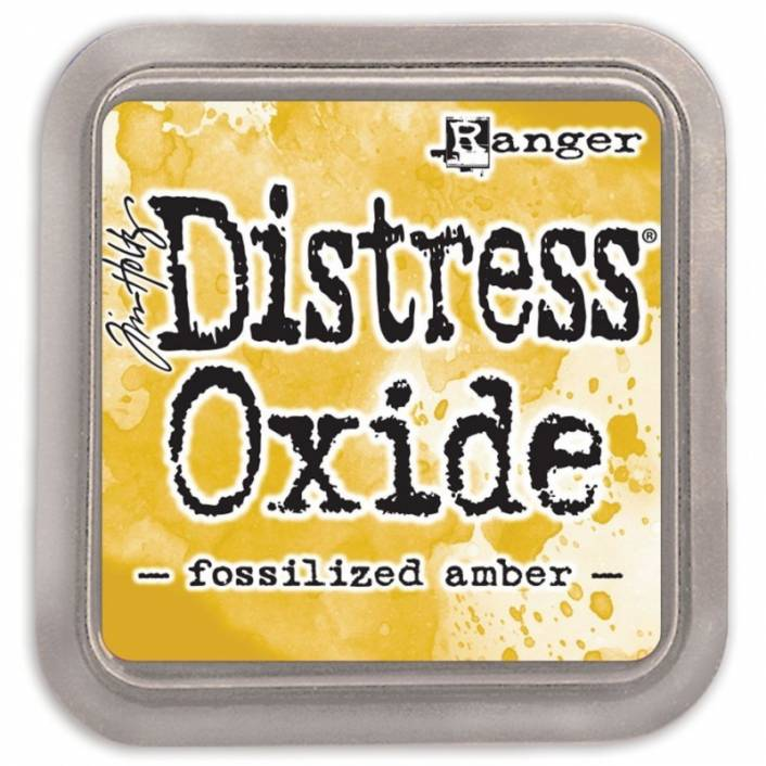 TINTA DISTRESS OXIDE FOSSILIZED AMBER. RANGER