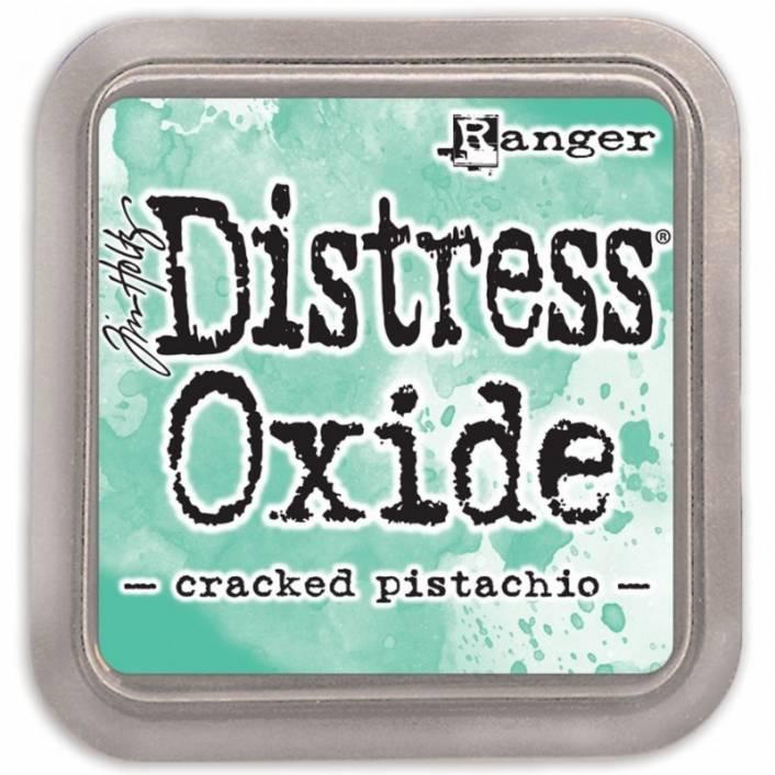 TINTA DISTRESS OXIDE CRACKED PISTACHIO. RANGER