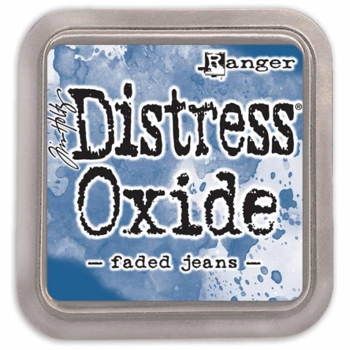 TINTA DISTRESS OXIDE FADED JEANS. RANGER