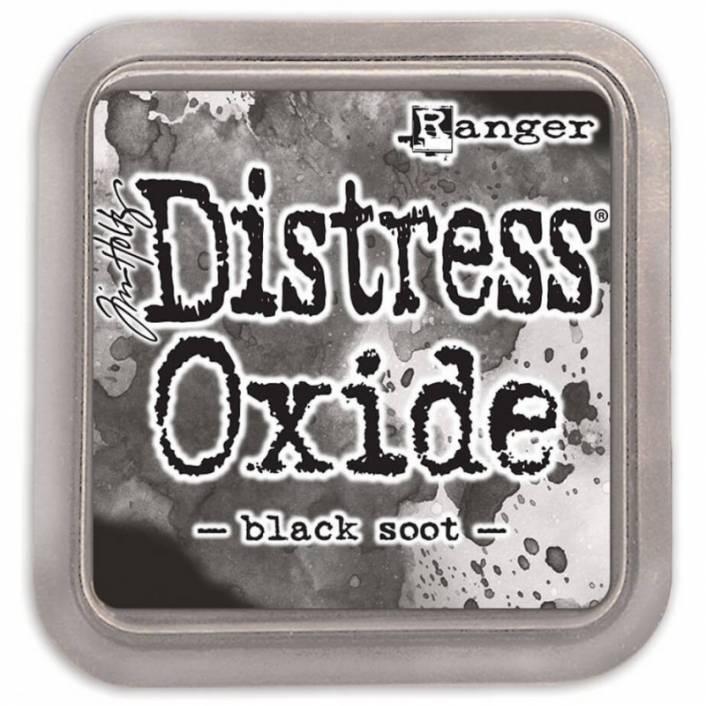 TINTA DISTRESS OXIDE BLACK SOOT. RANGER