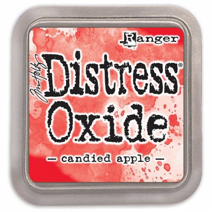 TINTA DISTRESS OXIDE CANDIED APPLE. RANGER