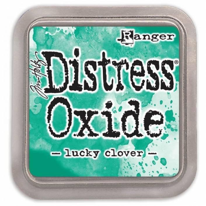 TINTA DISTRESS OXIDE LUCKY CLOVER. RANGER