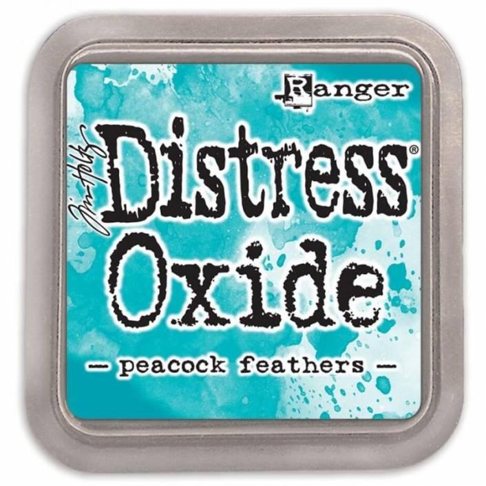 TINTA DISTRESS OXIDE PEACOCK FEATHERS. RANGER
