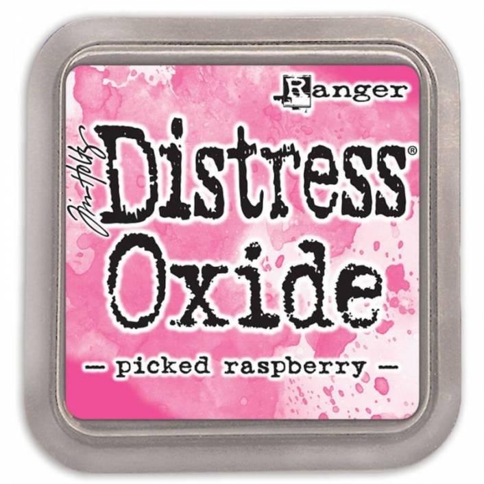 TINTA DISTRESS OXIDE PICKET RASPBERRY. RANGER