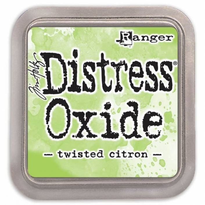 TINTA DISTRESS OXIDE TWISTED CITRON. RANGER
