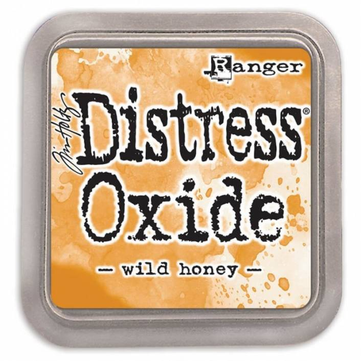 TINTA DISTRESS OXIDE WILD HONEY. RANGER