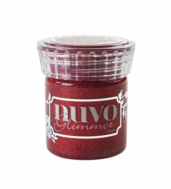 PASTA BRILLANTE GARNET RED. NUVO