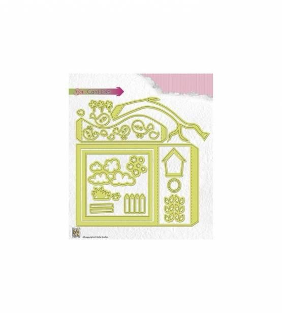 SET DE TROQUELES BOX CARD. NELLIES