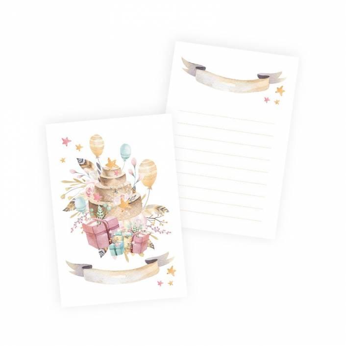 SET OF CARDS CUTE&CO GIRL . PIATEK TRZYNASTEGO