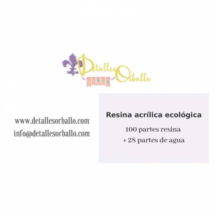 RESINA ACRÍLICA ECOLÓGICA 500G