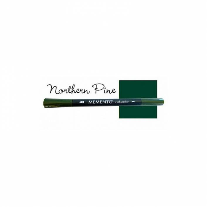 ROTULADOR DOBLE PUNTA MEMENTO NORTHERN PINE
