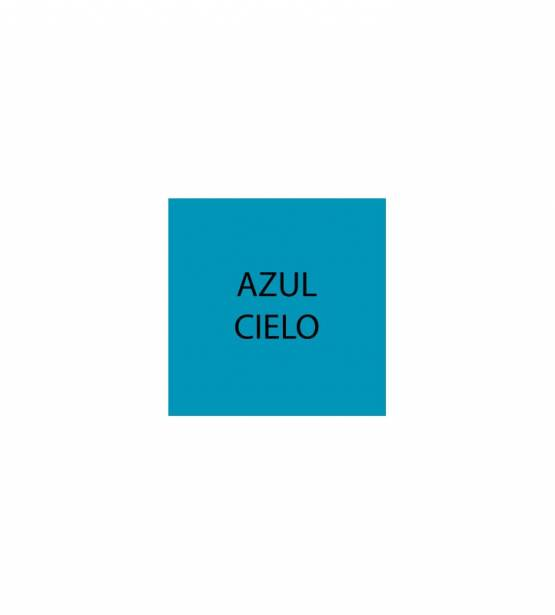 PAPEL LISO 30X30 AZUL CIELO. DETALLES ORBALLO