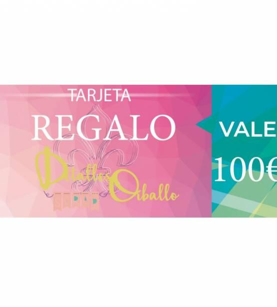 TARJETA REGALO 100€. DETALLES ORBALLO