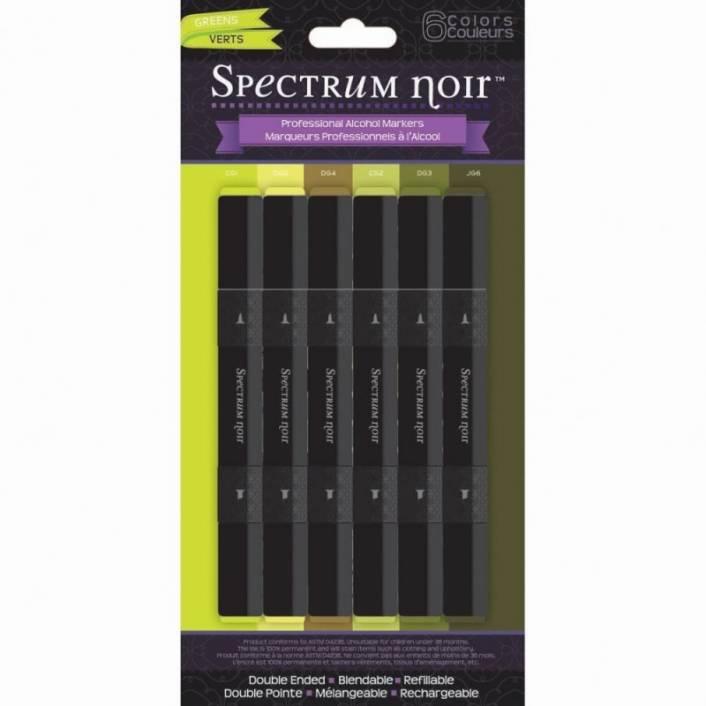 SET DE 6 ROTULADORES GREENS. SPECTRUM NOIR