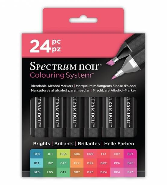 SET DE 24 ROTULADORES BRIGHTS. SPECTRUM NOIR
