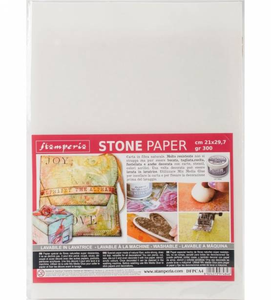STONE PAPER A4. STAMPERIA