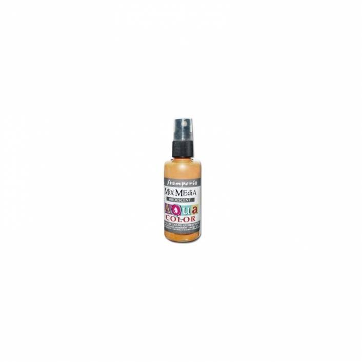 AQUA COLOR SPRAY PERLADO 60ML. STAMPERIA