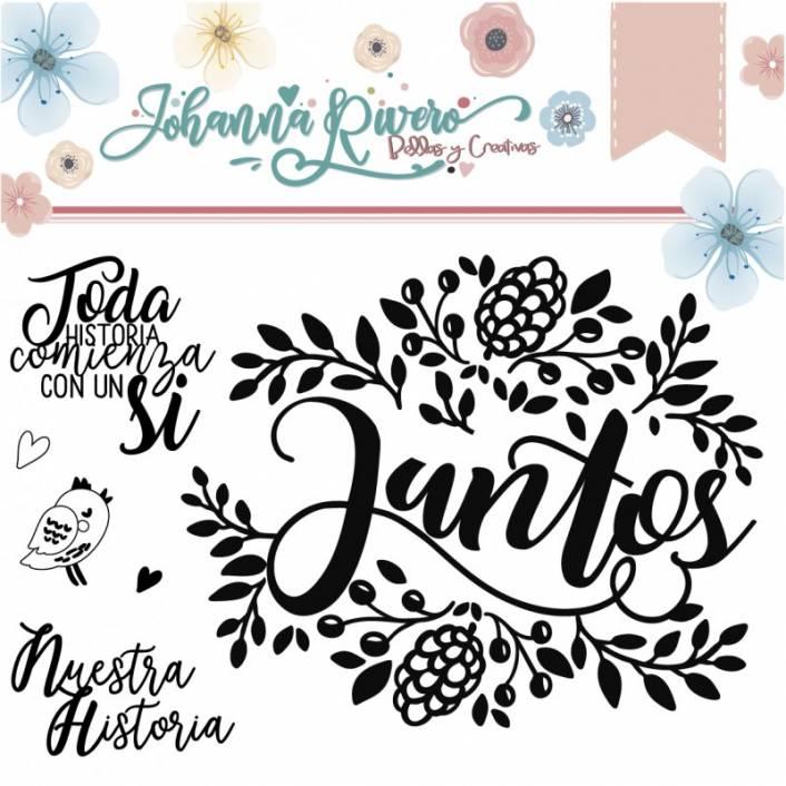 SET DE SELLOS JUNTOS. JOHANNA RIVERO