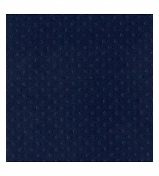 PAPEL LISO TEXTURIZADO 30x30 TEXTURIZADO DOTTED SWISS. DEEP BLUE. BAZZILL