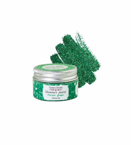 SHIMMER PAINT FOREST GREEN. FABRIKA DECORU